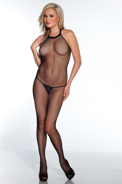 1757 - Bodystocking - Black - OS