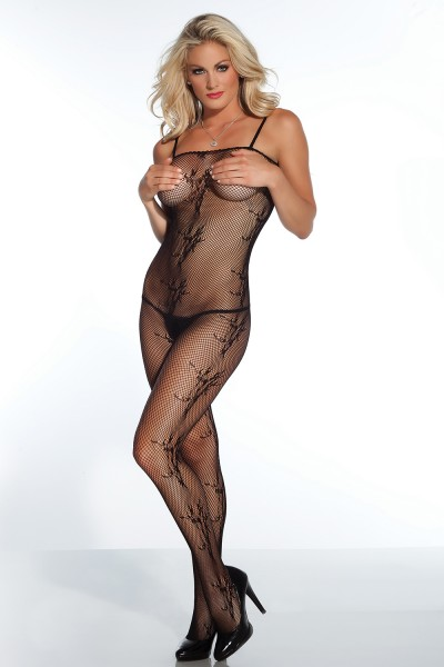 1758 - Bodystocking - Black - OS