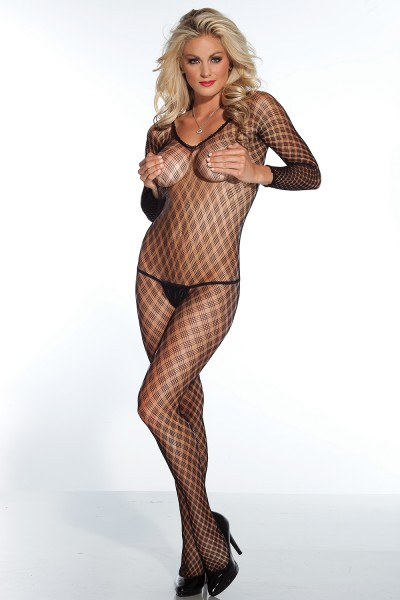 1759 - Bodystocking - Black - OS