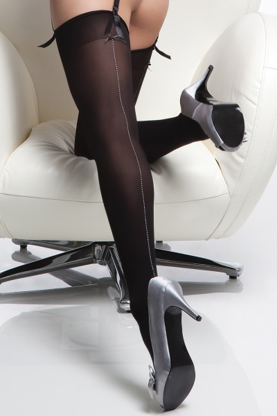 1775 - Stockings - Black - OS