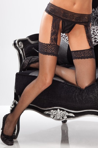 1779 - Stockings - Black - OS