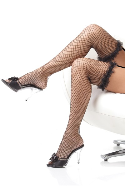 1785 - Stockings - Black - OS