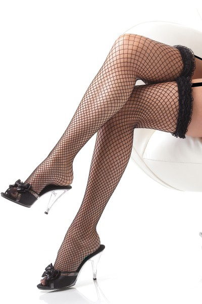 1787 - Stockings - Black - OS
