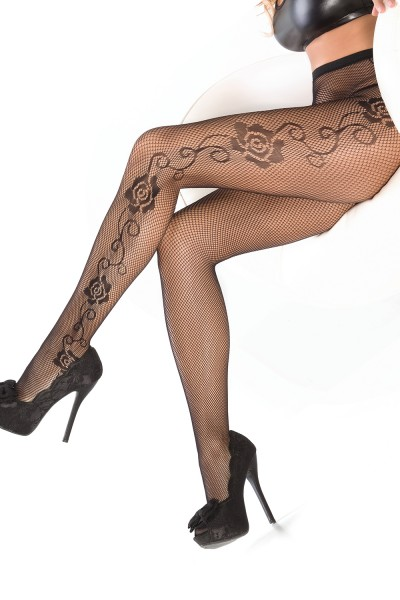 1789 - Pantyhose - Black - OS