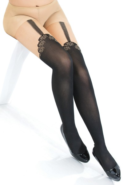 1798 - Pantyhose - Black