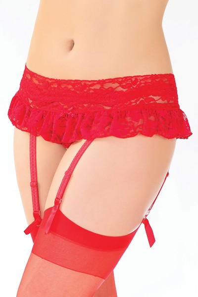 181 - Panty with Removable Garter and Skirt