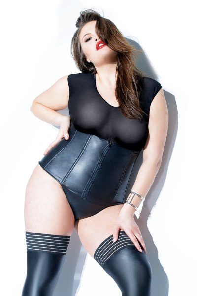 D9352X - Plus Size Metal Boned Cincher