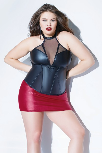 Plus Size Forever Matte Bustier