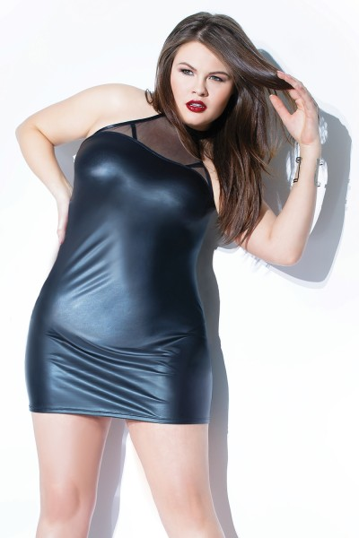 Plus Size Forever Matte Dress