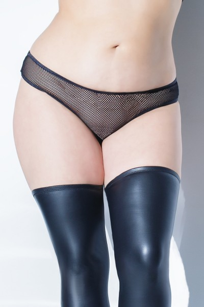 Plus Size Sheer Dreams Panty