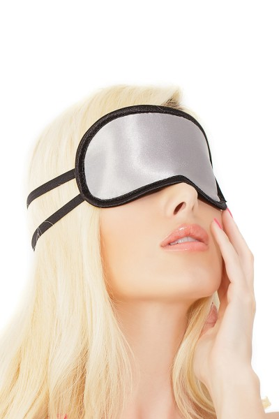 SB1734 - Eye Mask - Silver/Black - OS