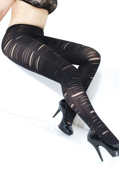 1894X - Plus Size Pantyhose - Black