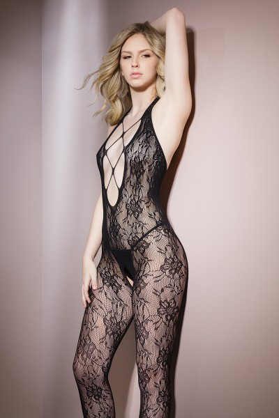 2562 - Bodystocking - Black - OS