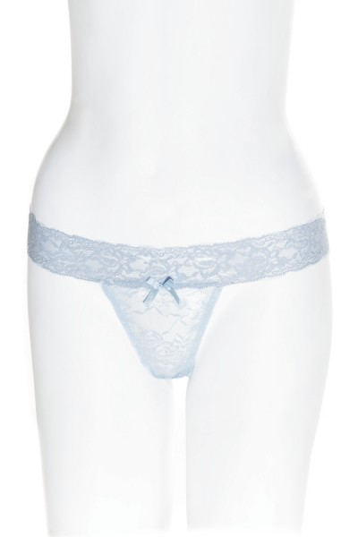 4091X - Plus Size Thong - Blue