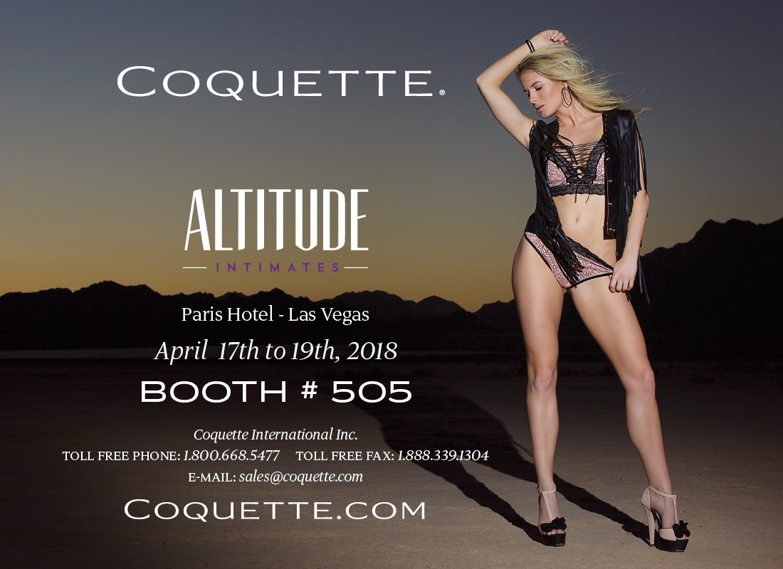 Coquette's Gearing Up for Altitude Intimates Spring 2018